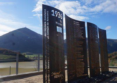 Parque de la memoria histórica Monreal – Elo