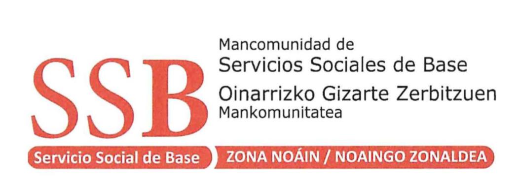 Mancomunidad de Servicios Sociales de Base Oinarrizko Gizarte Zerbitzuen Mankomunitatea