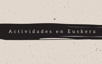 Actividades en Euskera