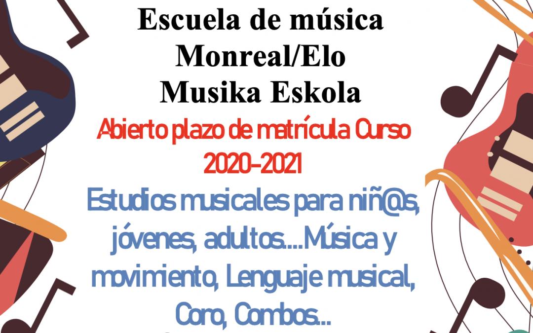 ESCUELA DE MÚSICA DE MONREAL