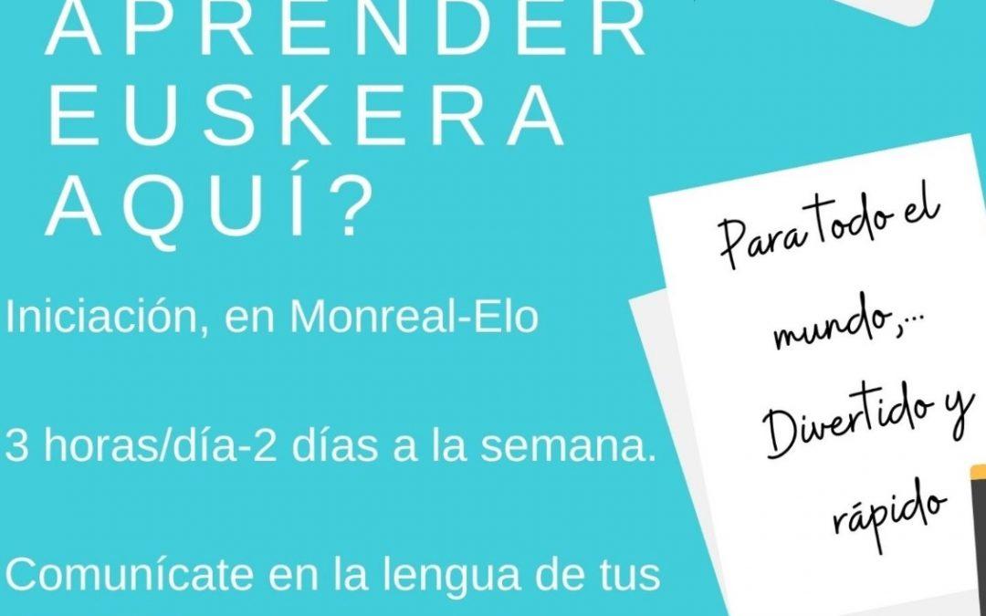 ¿Quieres aprender Euskera?