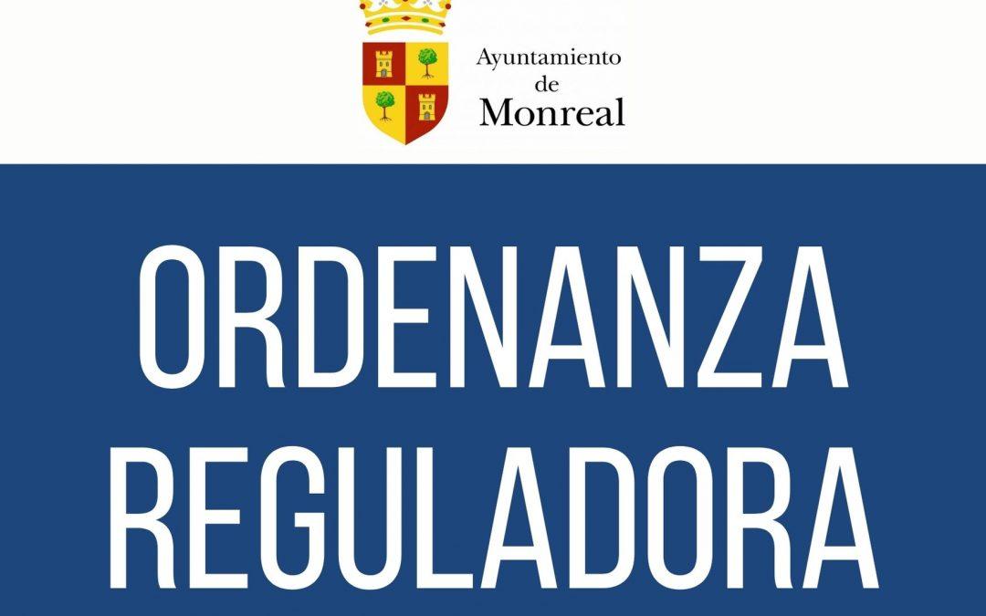 Aprobación inicial de la Ordenanza fiscal reguladora del impuesto sobre vehículos de tracción mecánica